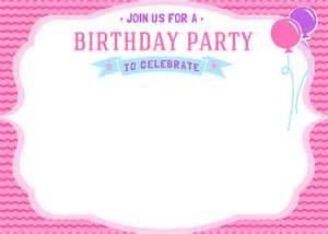 free girls birthday invitation printables mama walker