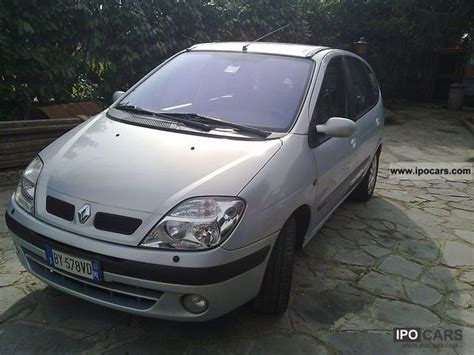 renault scenic 2002 specifications 2002 renault scenic car photo and specs