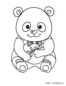 panda coloring page panda coloring pages hellokids