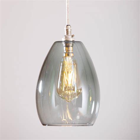 bertie coloured glass pendant light by glow lighting
