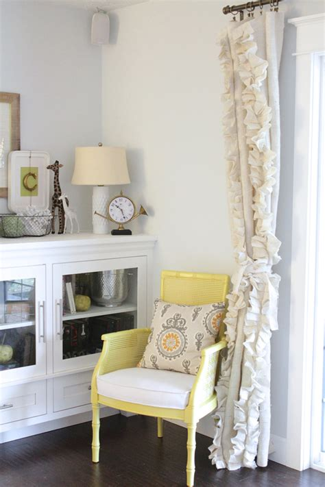 sewing burlap curtains remodelaholic how to sew ruffled burlap curtains