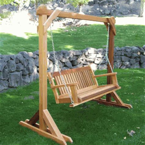 stand alone porch swing stand alone basic swing frame