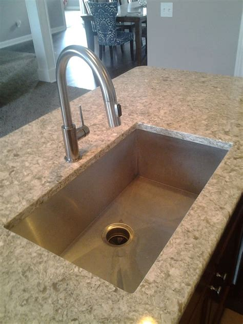 kitchen sink stainless steel undermount sink cambria quartz copper river cabinet company copper river kitchen projects pinterest