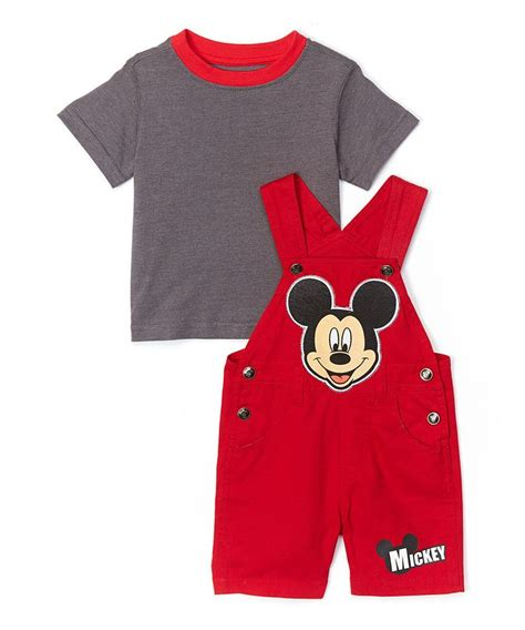Overal Mickey Baby children s apparel network mickey mouse overalls