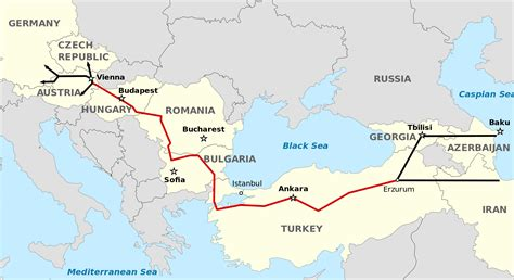 map of europe without russia gas projects skirt russia en route to europe