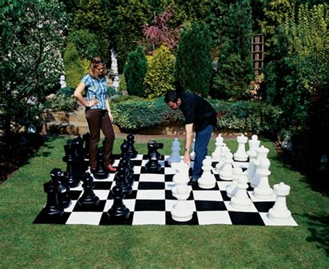 life size chess how to create your own life sized backyard chess game