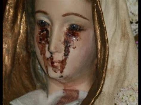 Imagenes Virgen Llorando | la virgen que llora sangre en la republica dominicana