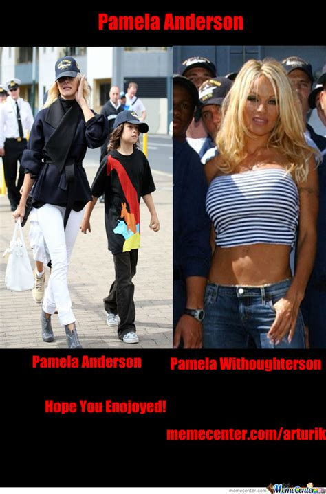 Pamela Meme - pamela anderson by recyclebin meme center