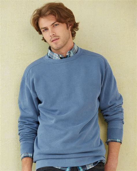 comfort color sweatshirts wholesale plain basic cheap discount blank wholesale adult mens