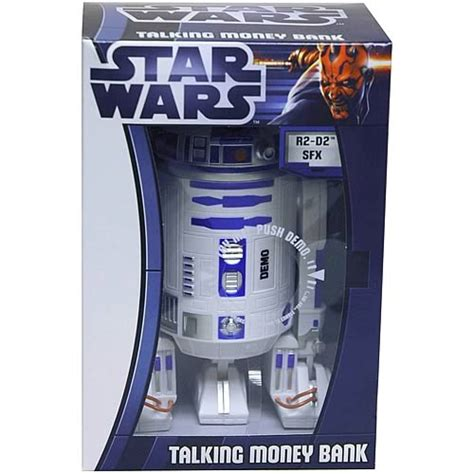 Wars R2 D2 Powerbank wars r2 d2 talking money bank zeon wars