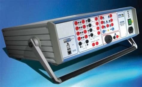 cassetta prova rele isa presenta rts3 per la prova dei rel 232 di protezione