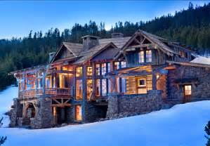 ski lodge house plans rustic ski lodge home bunch interior design ideas