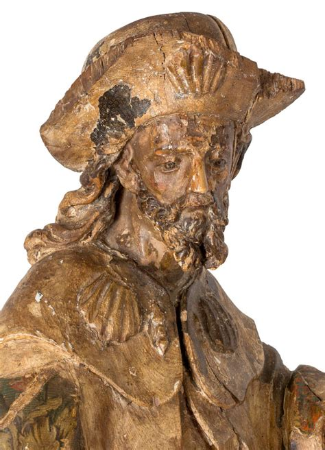patron of dogs 18c san roque patron of dogs at 1stdibs