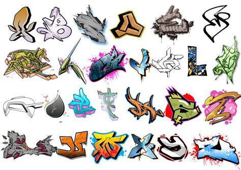 design huruf coc graffiti fonts april 2010