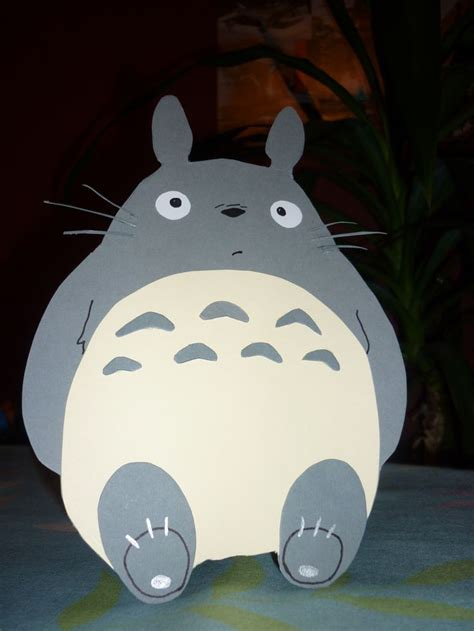 Totoro Graduation Totoro Card Handmade Cards