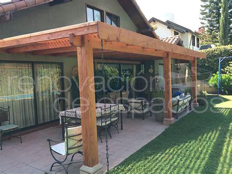 cobertizos metal madera p 233 rgolas cobertizos quinchos cortavistas y deck
