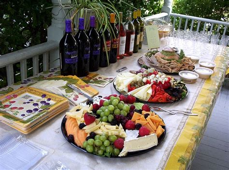 Appetizer Table by Appetizer Table For Reception I Do
