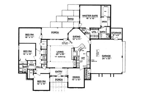 brownsville southern ranch home plan 020d 0208 house