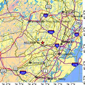 Vauxhall Zip Code Millburn New Jersey Nj Population Data Races