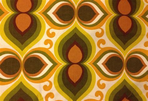 retro 70s fabric nifty 50s - 70s Fabric