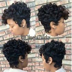 black freeze hair styles from the 1990 pixie haircut with curls short hairstyles for african