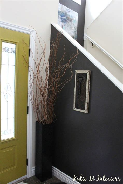 entryway foyer and stairwell decorating ideas behr