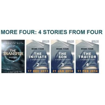 0007550146 four a divergent collection four a divergent collection poche veronica roth