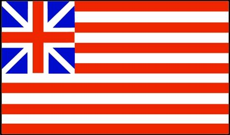 grand union flag used by continental army in 1776