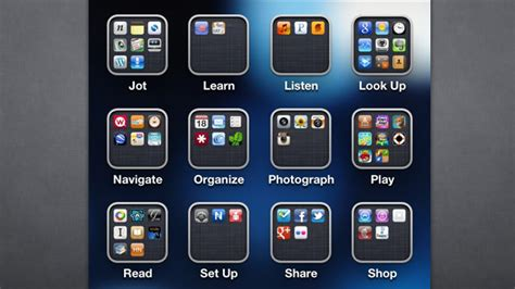 best free organization apps organize your apps by action instead of category for a