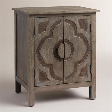 And Lotus Leather Cutie Sea Grey gray kiran lotus cabinet from cost plus world market epic
