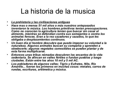 historia de la musica 8420663085 la historia de la musica