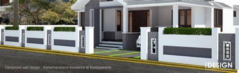 Kerala Home Design October idesign calicut compound wall concept
