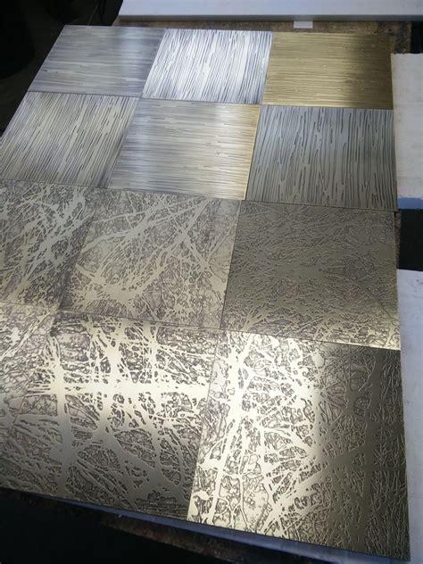 piastrelle metallo piastrelle in metallo ottone ed alluminio mobilifici