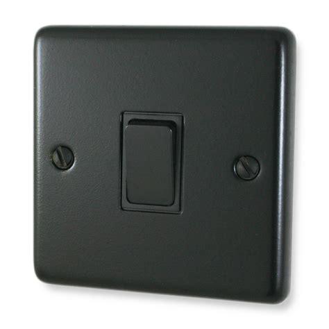 Matt Black Light Switch 1 Black Switch