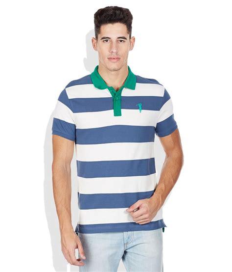 bossini blue striped polo t shirt buy bossini blue
