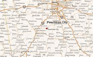 peachtree map gu 237 a urbano de peachtree city
