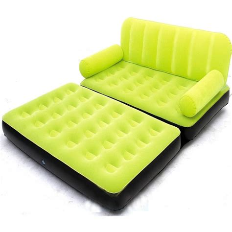 5 in one air sofa bed best way 5 in 1 inflatable velvet sofa air bed with air