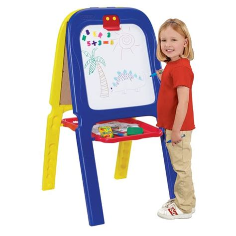 crayola 3 in 1 easel pretend play arts crafts