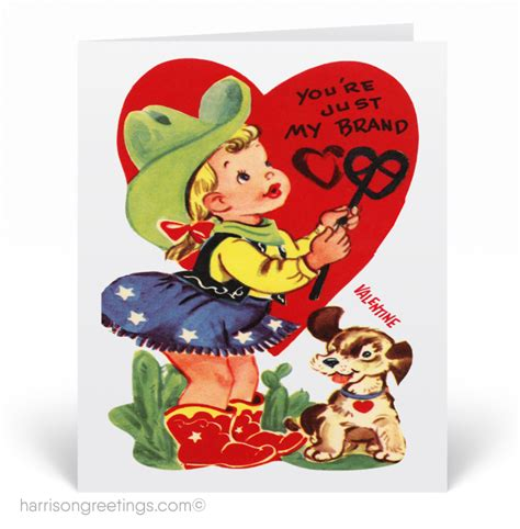 vintage valentines day card vintage s day cards harrison greetings