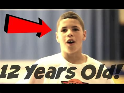 11 years old that has highlights at the bottom of their hair chino hills lamelo ball at 12 years old basketball