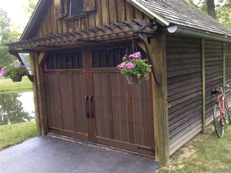 carriage house comeback fine homebuilding carriage house style garage door construction technique