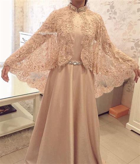 Kebaya Muslim 25 model kebaya modern 2018 terbaru simple casual elegan