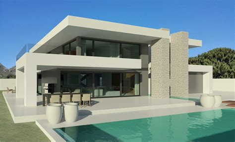 22 boat house designs for vacation inspiration salter modern villas marbella two monolithical dolmen dominate