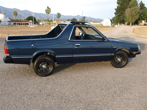 1986 Subaru Brat Runs Well Excellent Paint And