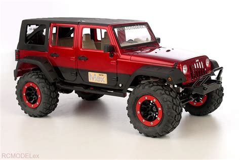 jeep rock crawler rc scale chassis chassis kit mex jeep jk arb 1 8