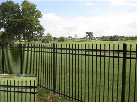 Decorative Metal Fence by Ornamental Fences Dixie Fence Builders Statesville Nc