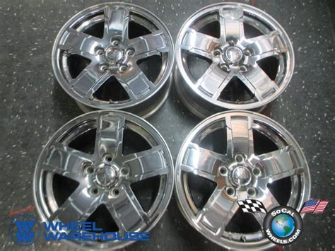 05 Jeep Grand Rims 05 07 Jeep Grand Limited Factory 17 Quot Chrome Clad