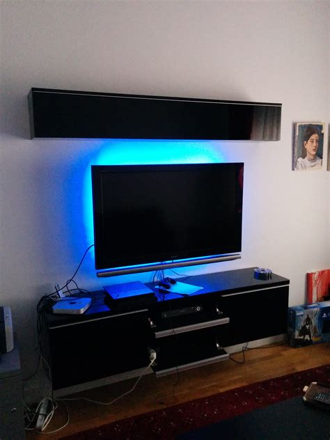 besta cable management floating ikea tv bench besta burs model thanks to r diy