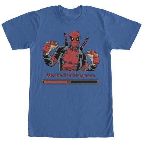 Deadpool 3 T Shirt deadpool workout in progress t shirt