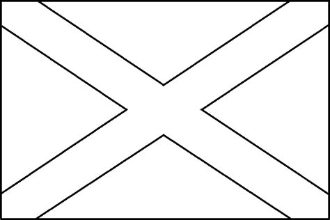 image  scottish flag coloring page flag coloring